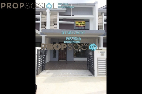 For Sale Terrace at Bandar Country Homes, Rawang Freehold Unfurnished 4R/3B 478k