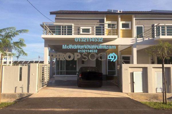 For Sale Terrace at 1K Residence, Bandar Melaka Freehold Unfurnished 4R/2B 489k