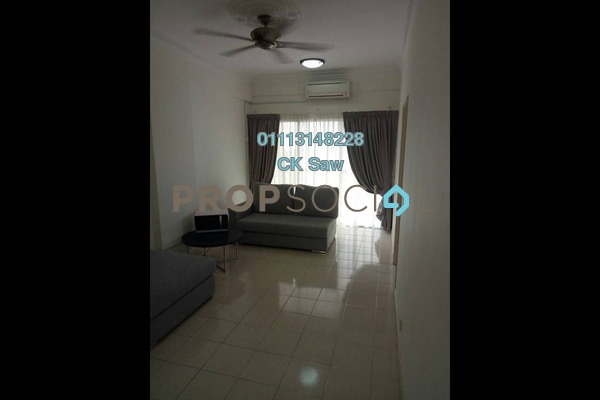 For Rent Condominium at Kojaya, Ampang Freehold Semi Furnished 4R/2B 1.5k