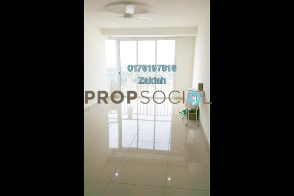 For Rent Serviced Residence at Menara U, Shah Alam Freehold Semi Furnished 2R/1B 1.45k