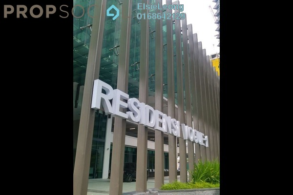 For Sale Condominium at Vogue Suites One @ KL Eco City, Mid Valley City Leasehold Fully Furnished 1R/1B 890k