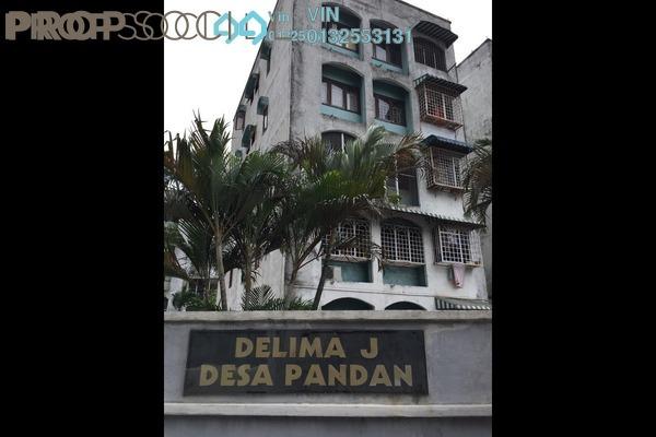 For Sale Apartment at Delima J Apartment, Desa Pandan Leasehold Semi Furnished 3R/2B 430k
