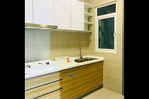 For Rent Condominium at V-Residensi 2, Shah Alam Freehold Fully Furnished 3R/2B 1.6k