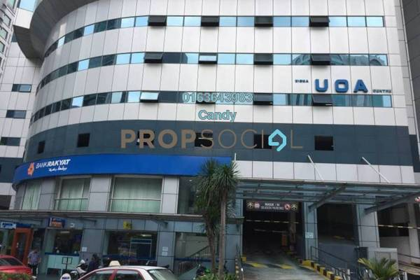 For Rent Office at Wisma UOA I, KLCC Freehold Unfurnished 0R/0B 4.11k