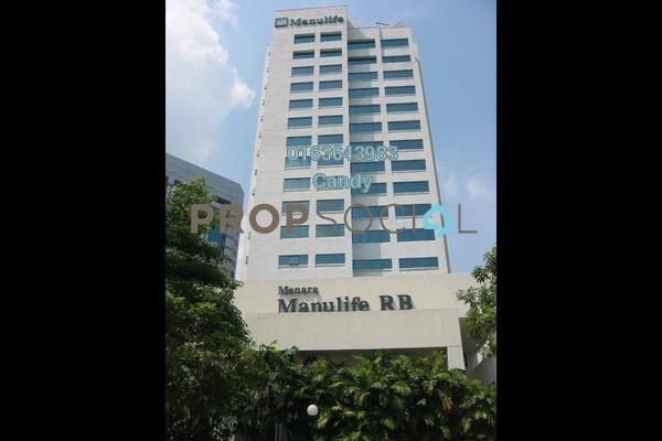 For Rent Office at Menara Manulife, Damansara Heights Freehold Unfurnished 0R/0B 46.6k