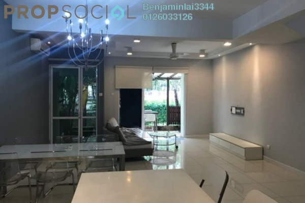 For Sale Terrace at Adiva, Desa ParkCity Freehold Fully Furnished 3R/3B 1.68m