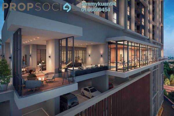 For Sale Condominium at The Hermington, Kuchai Lama Freehold Semi Furnished 3R/2B 440k