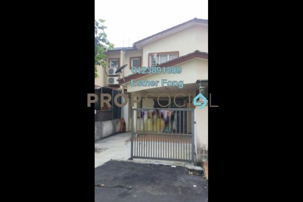 For Rent Terrace at Taman Bukit Permata, Batu Caves Freehold Semi Furnished 3R/3B 1.2k