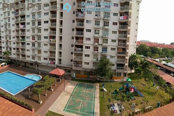 For Rent Apartment at Cahaya Permai, Bandar Putra Permai Freehold Unfurnished 3R/2B 1k