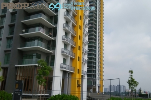 For Sale Condominium at The Z Residence, Bukit Jalil Freehold Semi Furnished 3R/2B 618k