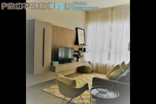 For Sale Terrace at Bluwater Estate, Seri Kembangan Leasehold Semi Furnished 4R/5B 1.6m