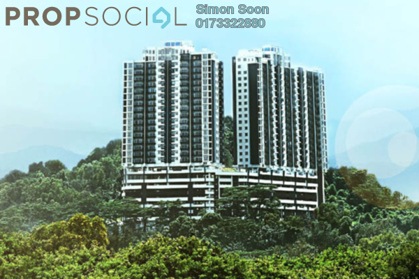 For Sale Condominium at Sky Vista Residensi, Cheras Freehold Semi Furnished 3R/2B 778k
