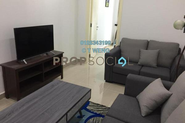 For Rent Condominium at Binjai 8, KLCC Freehold Fully Furnished 2R/2B 3.7k