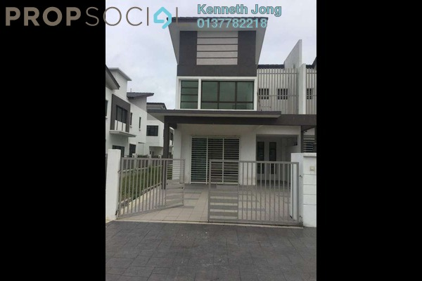 For Rent Terrace at Lakeside Residences, Puchong Freehold Semi Furnished 4R/3B 2.05k