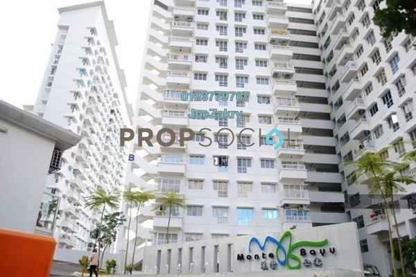 For Rent Condominium at Monte Bayu, Cheras Freehold Semi Furnished 3R/2B 1.8k