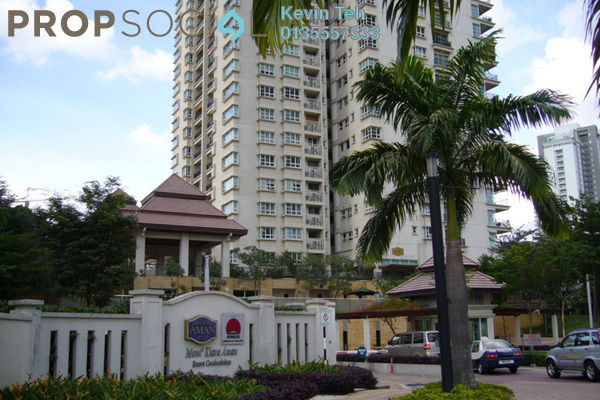 For Rent Condominium at Mont Kiara Aman, Mont Kiara Freehold Semi Furnished 4R/3B 6k