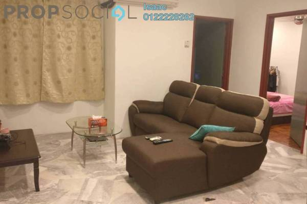 For Sale Apartment at Semarak Apartment, Puchong Freehold Semi Furnished 3R/2B 210k