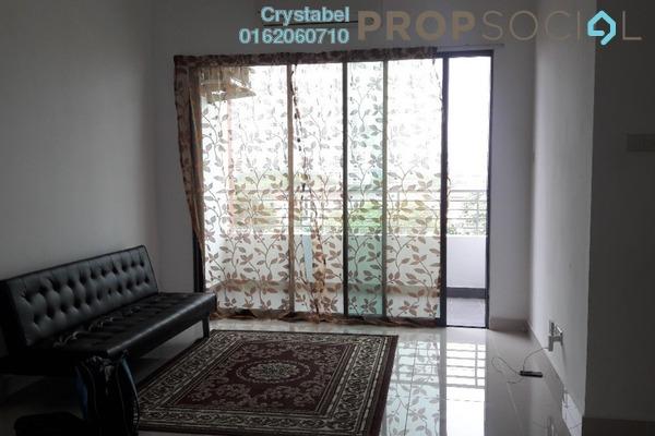 For Rent Condominium at Bayu @ Pandan Jaya, Pandan Indah Freehold Fully Furnished 3R/2B 1.95k