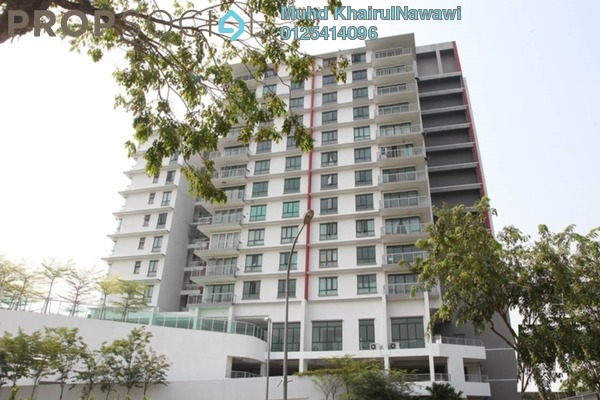 For Sale Condominium at Pinang Heights, Shah Alam Freehold Semi Furnished 4R/2B 500k