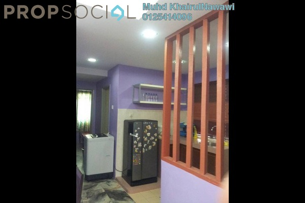 For Sale Apartment at Astana Alam Apartment, Kuala Selangor Freehold Semi Furnished 3R/2B 185k
