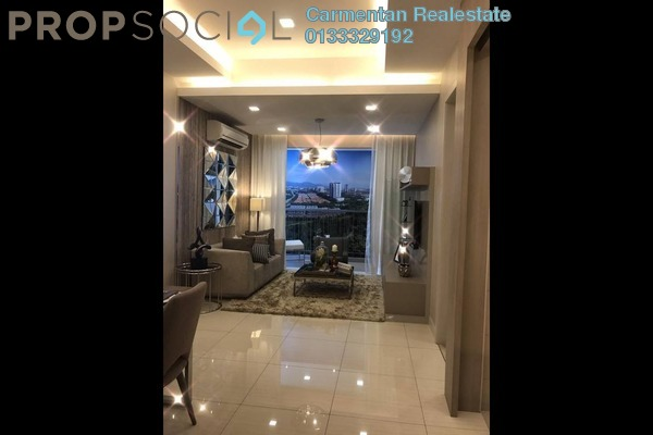 For Sale Condominium at Hampton Damansara, Kuala Lumpur Freehold Semi Furnished 3R/2B 698k