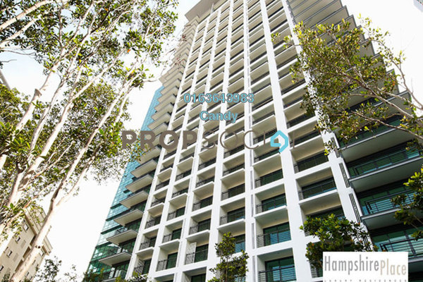 For Rent Office at Hampshire Place, KLCC Freehold Unfurnished 0R/0B 18.2k