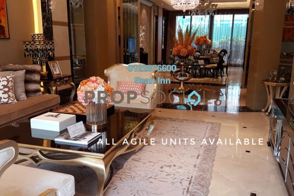 For Sale Condominium at Agile Mont Kiara, Dutamas Freehold Semi Furnished 4R/4B 2.19m