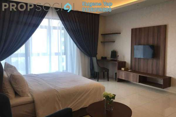 For Rent Condominium at Tribeca, Bukit Bintang Freehold Fully Furnished 0R/1B 3.5k