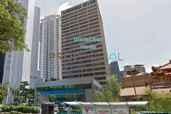 For Rent Office at Menara Atlan, KLCC Freehold Unfurnished 0R/0B 7.09k
