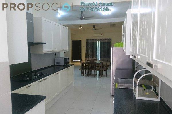 For Rent Terrace at Pentas, Alam Impian Freehold Semi Furnished 5R/5B 2.5k
