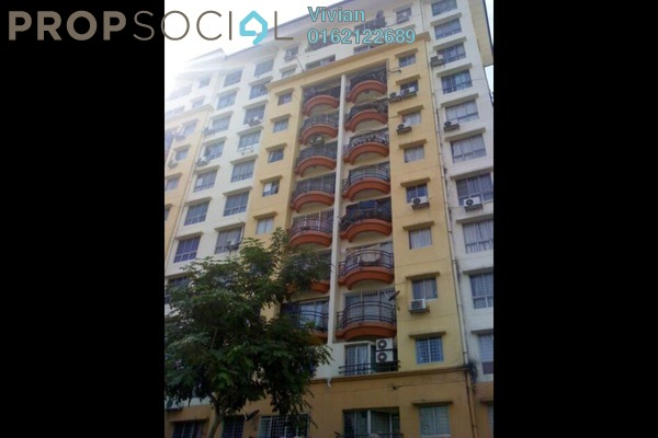 For Sale Condominium at Taman Abadi Indah, Taman Desa Freehold Semi Furnished 3R/2B 370k