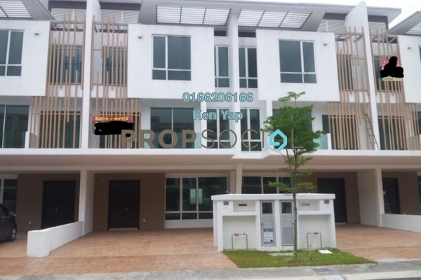 For Sale Superlink at Garden Residence, Cyberjaya Freehold Semi Furnished 6R/5B 1.05m