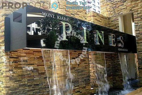 For Rent Condominium at Mont Kiara Pines, Mont Kiara Freehold Fully Furnished 3R/2B 4.3k