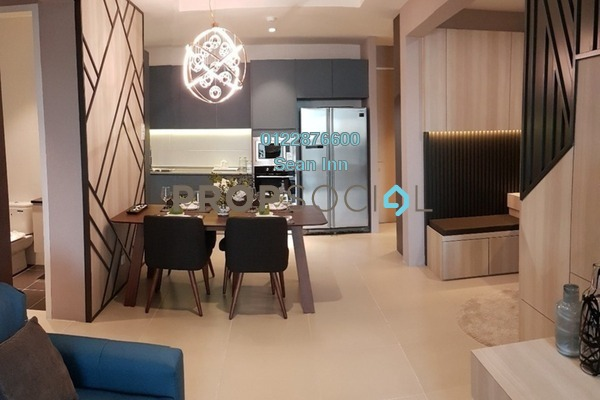 For Sale Condominium at Reizz Residence, Jalan Ampang Freehold Semi Furnished 2R/2B 805k