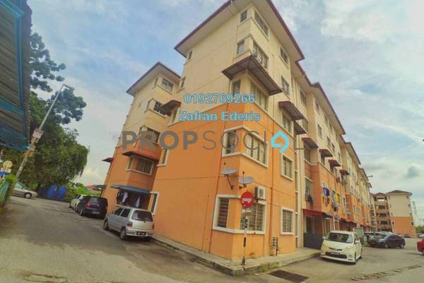 For Sale Apartment at Taman Puchong Prima, Puchong Freehold Semi Furnished 3R/2B 155k
