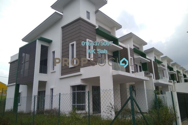 For Sale Superlink at The Clover Homes @ Laman Semanggi, Semenyih Freehold Unfurnished 4R/4B 574k