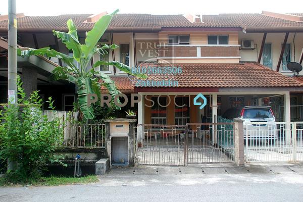 For Sale Terrace at Taman Kapar Indah, Kapar Freehold Unfurnished 4R/3B 375k