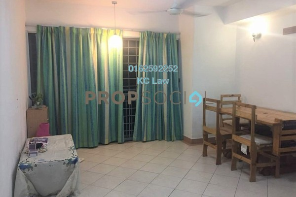 For Rent SoHo/Studio at Perdana Exclusive, Damansara Perdana Freehold Semi Furnished 1R/1B 1k