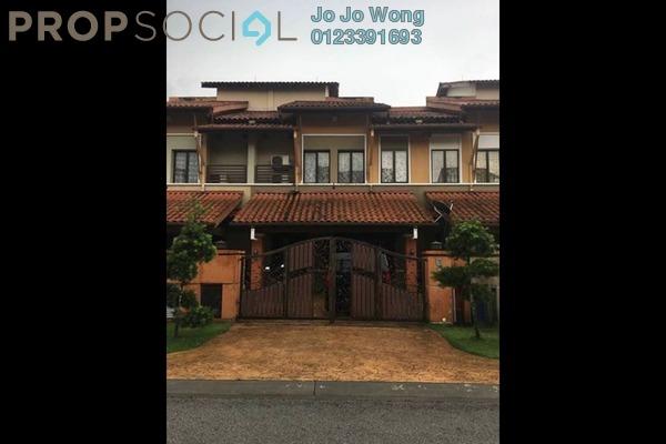 For Sale Terrace at Tropika, Bukit Jelutong Freehold Semi Furnished 6R/6B 1.25m