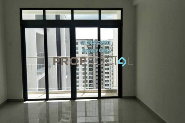 For Rent Condominium at Promenade Residence, Bayan Baru Freehold Semi Furnished 2R/2B 1.25k