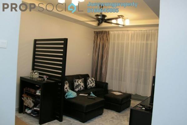 For Sale Apartment at Sri Teratai Apartment, Bandar Kinrara Freehold Semi Furnished 3R/2B 280k