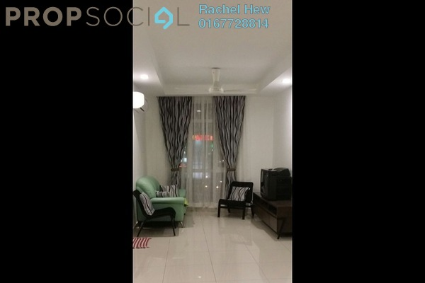 For Sale Apartment at Cemara Apartment, Bandar Sri Permaisuri Leasehold Semi Furnished 3R/2B 330k