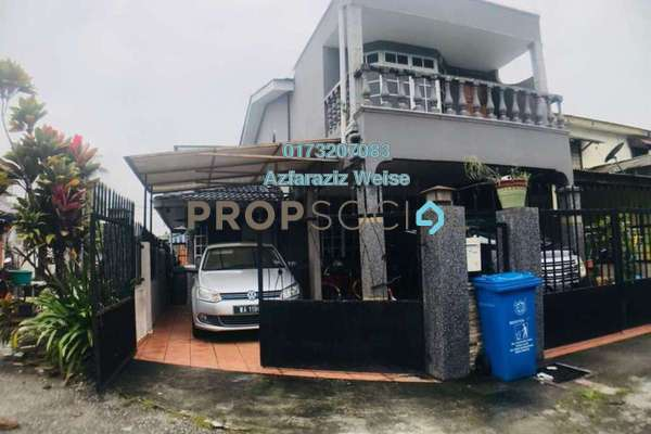 For Sale Terrace at Section 17, Shah Alam Freehold Semi Furnished 3R/3B 420k