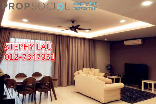 For Sale Condominium at Zefer Hill Residence, Bandar Puchong Jaya Freehold Fully Furnished 4R/3B 728k