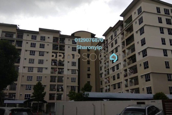 For Sale Apartment at Vista Mahkota Apartment, Bandar Mahkota Cheras Freehold Semi Furnished 3R/2B 318k