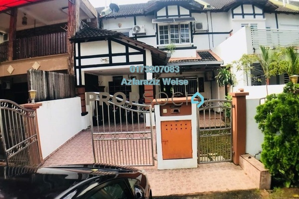 For Sale Terrace at Templer Heritage, Templer's Park Freehold Semi Furnished 4R/3B 850k