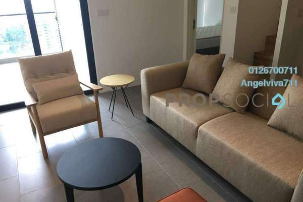 For Rent Serviced Residence at The Establishment, Brickfields Freehold Fully Furnished 2R/2B 2.8k