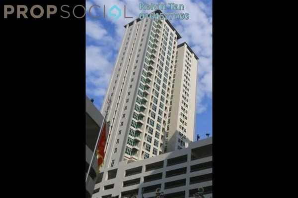 For Rent Apartment at Straits Garden, Jelutong Freehold Semi Furnished 3R/3B 1.6k
