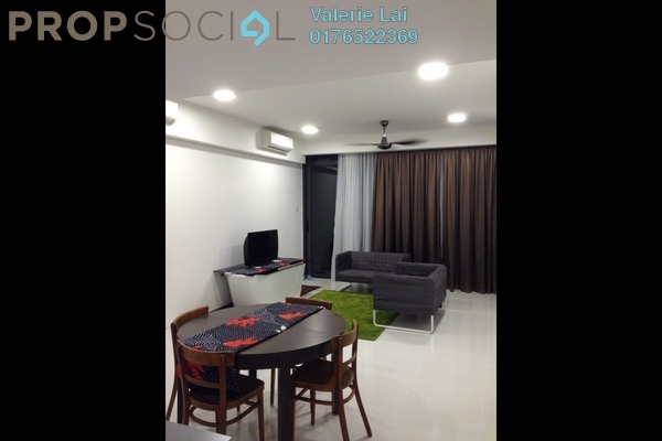 For Rent Condominium at The Capers, Sentul Freehold Fully Furnished 2R/3B 3k