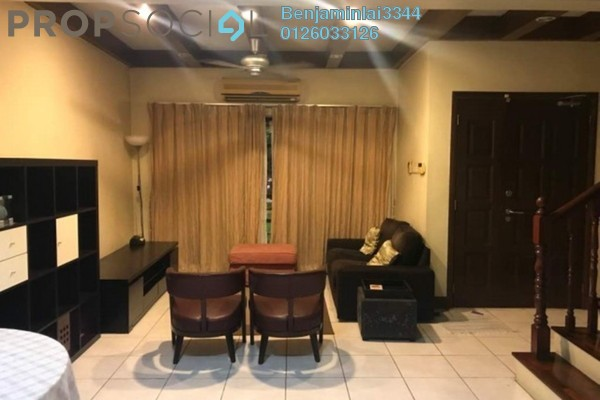 For Rent Terrace at SD7, Bandar Sri Damansara Freehold Semi Furnished 4R/3B 2.1k